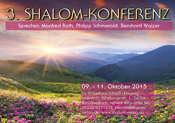 3. Shalom Konferenz