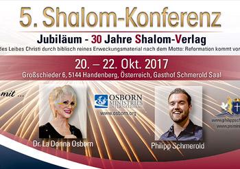 5. Shalom Konferenz