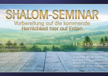 1. Shalom-Seminar