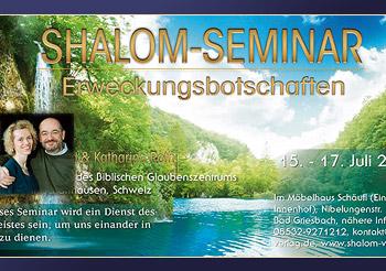 2. Shalom-Seminar